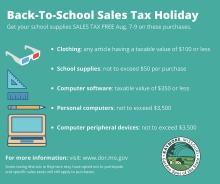 Sales Tax Free Weekend Copy