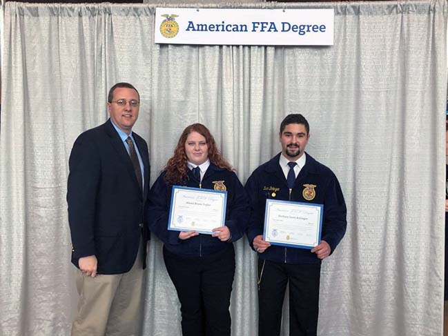 2018 National FFA Convention American Degrees