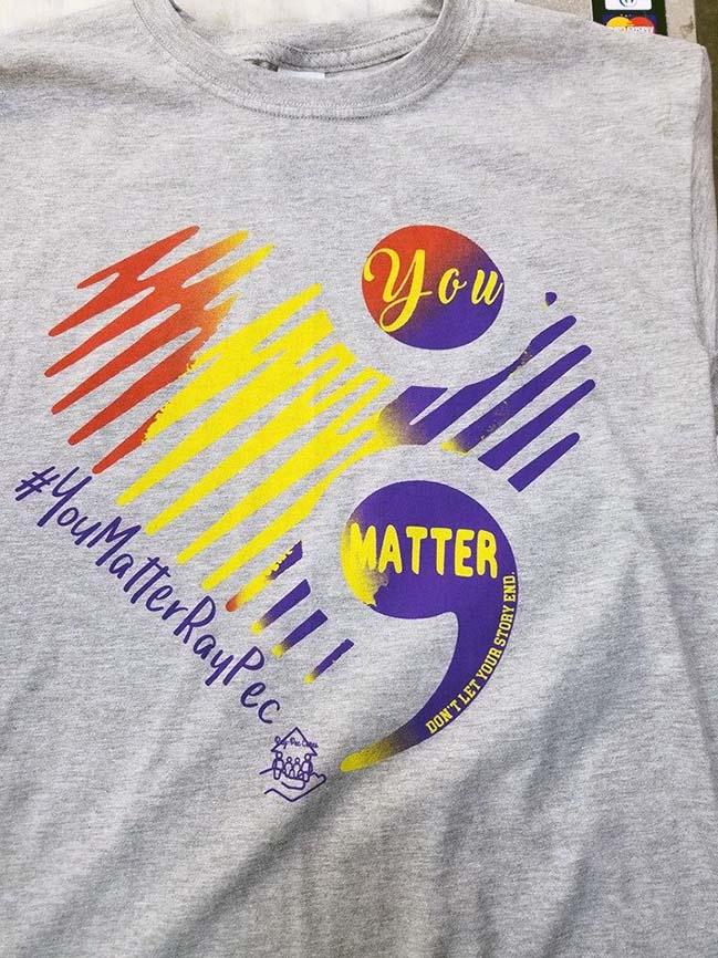 YouMatterRayPec shirt