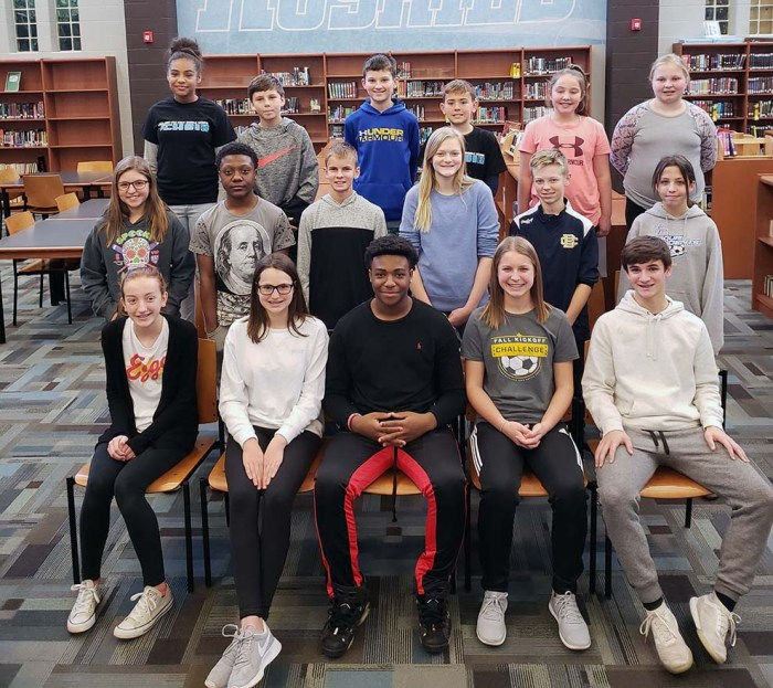 Ray-Pec East Middle Students of the Month