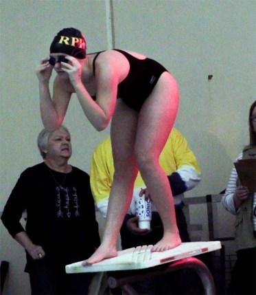 vertical swimmer