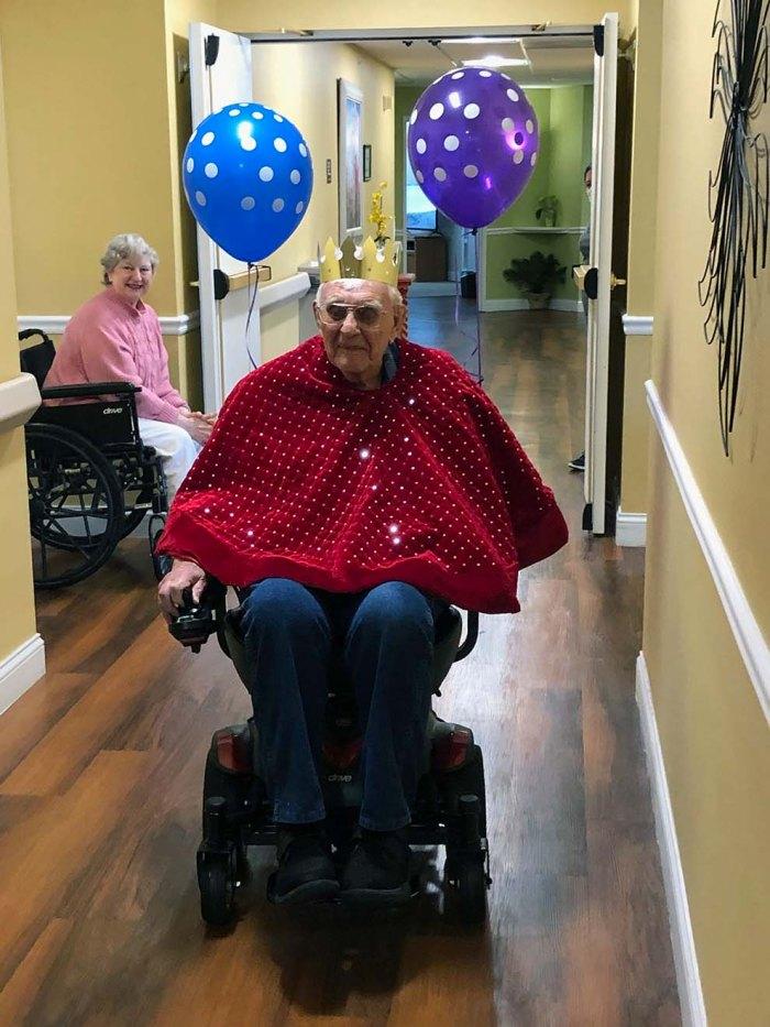 Russ Witt 100-year old vet